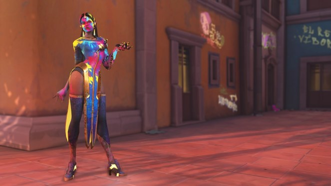 Weekly Challenge Reward - Holi Symmetra (Epic)