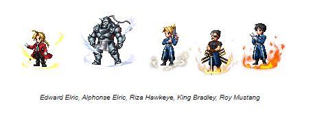 Fullmetal Alchemist Brotherhood Collaboration Event Now Live in Final Fantasy Brave Exvius