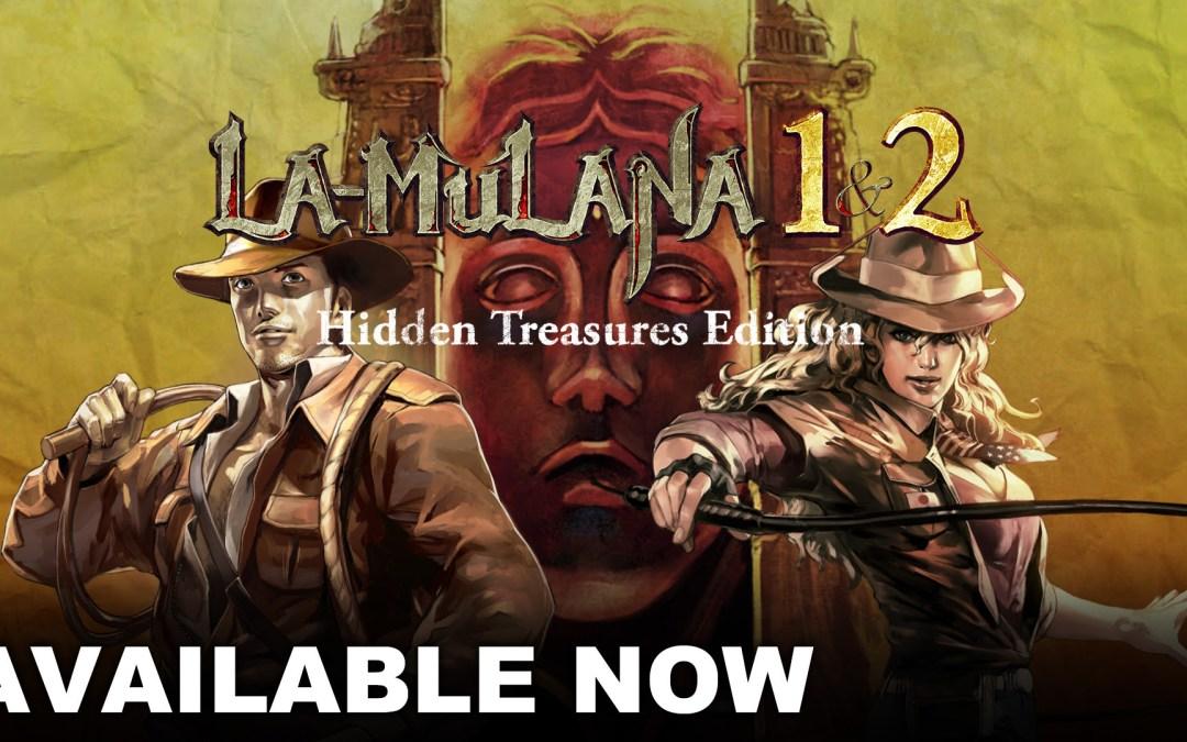 LA-MULANA 1 & 2 Now Available
