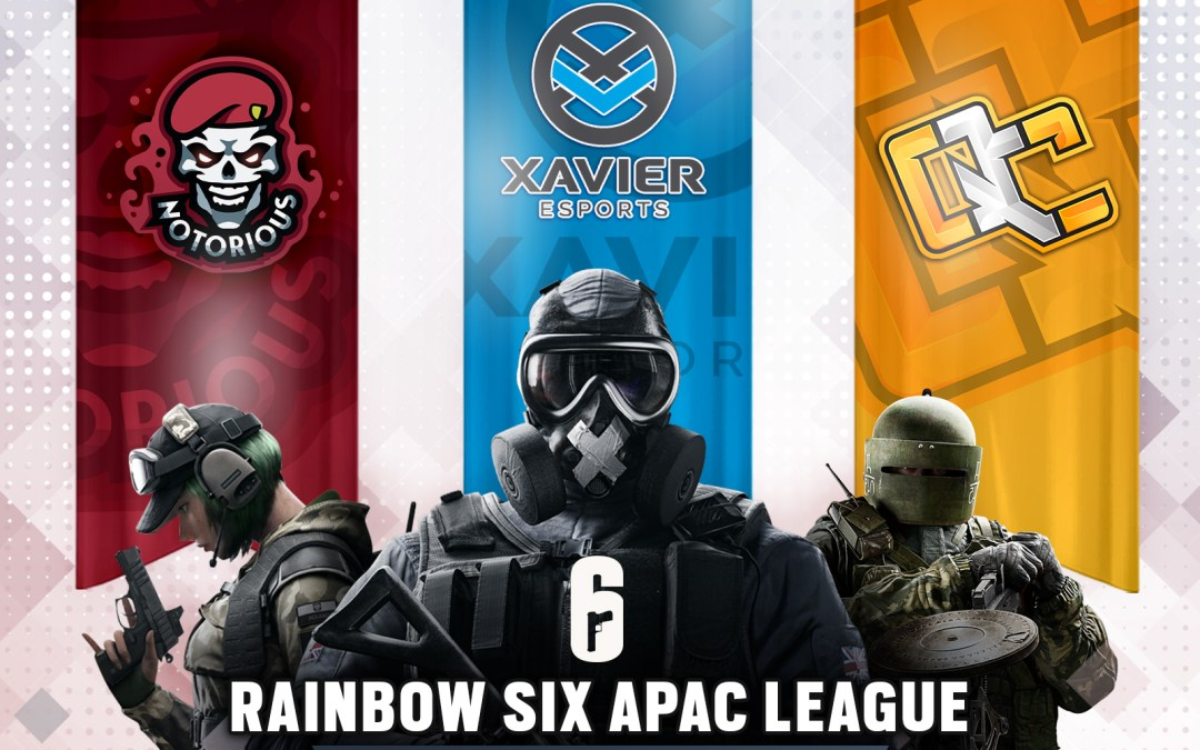 Unveiling 3 SEA Teams that will join the North Division of the Rainbow Six Asia Pacific League