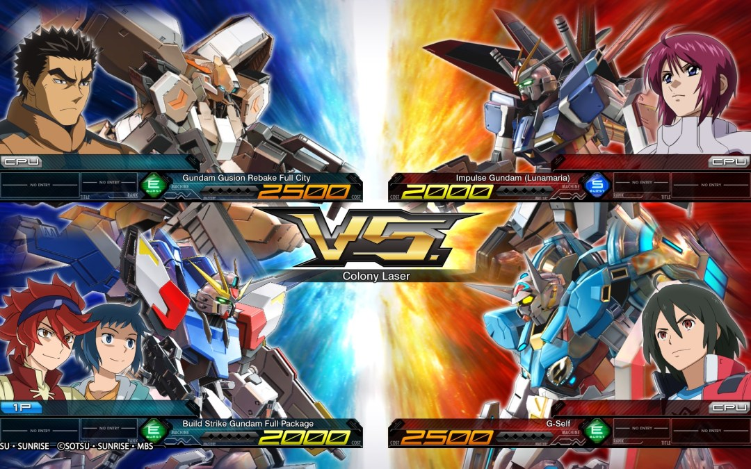 More Open Access Sessions for Mobile Suit Gundam Extreme Vs Maxiboost ON