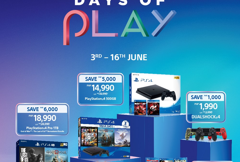PlayStation's Days Of Play Makes a Return