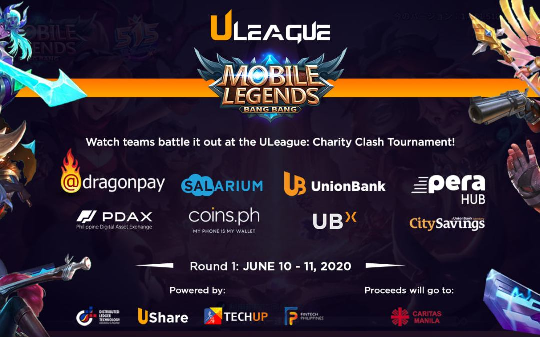 UnionBank Launches ULeague eSports Tournament for Charity