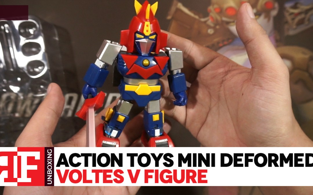 Action Toys Mini Deformed Voltes V Unboxing