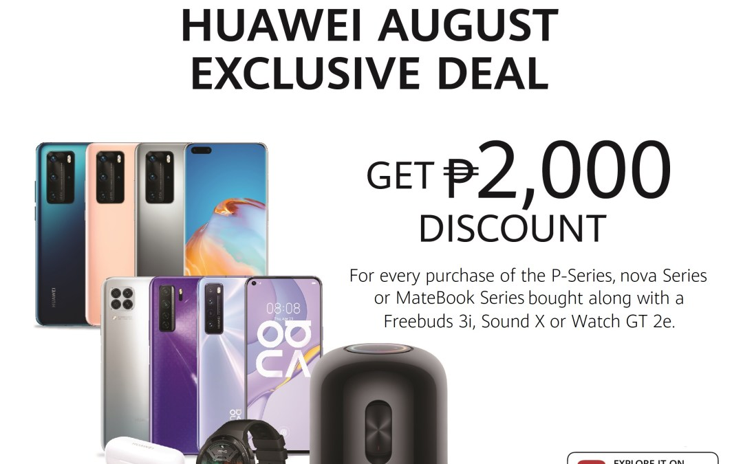 Get Huawei Devices at Best Price this August
