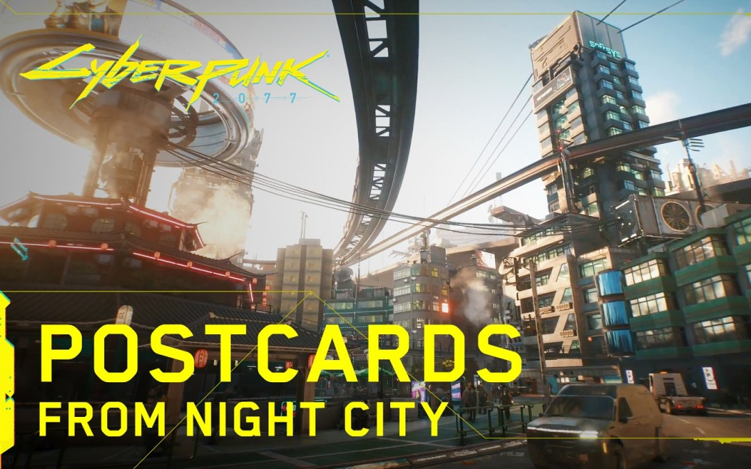 More Cyberpunk 2077 footage from the latest Night City Wire