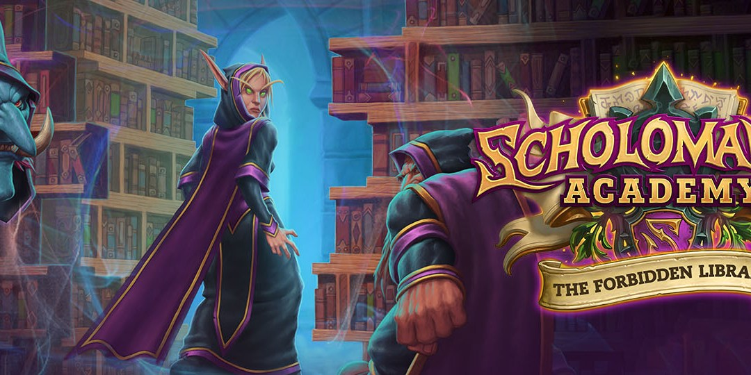 Gather your study group for Hearthstone's Forbidden Library update