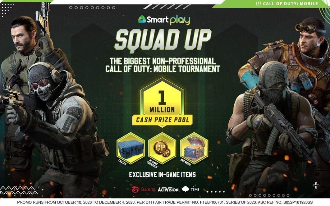 Smart launches PH's biggest Call of Duty: Mobile tournament with 'Smart Play: Squad Up'