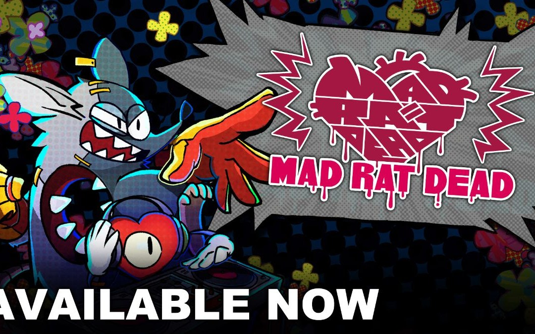 Rhythm Platformer Mad Rat Dead is Available Now!