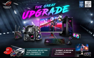 ASUS and Republic of Gamers doubles down on the gifts with back-to-back holiday promos