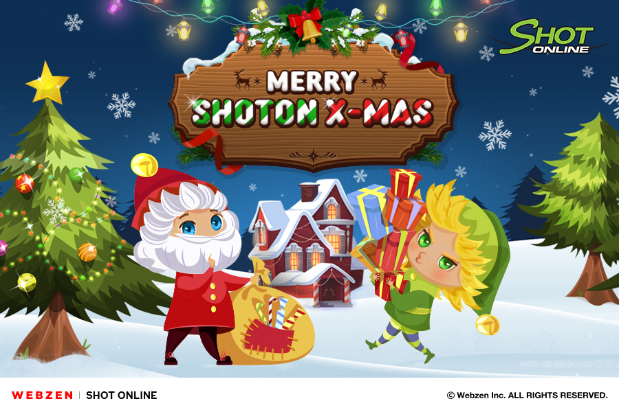 Have a Holly Jolly Christmas with Shot Online