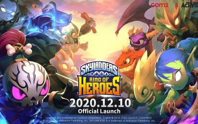 Skylanders Ring of Heroes Official Release in Asia