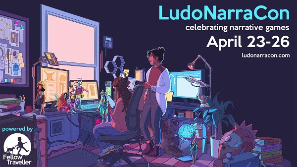 Annual Narrative Convention LudoNarraCon Makes a Return on April 2021