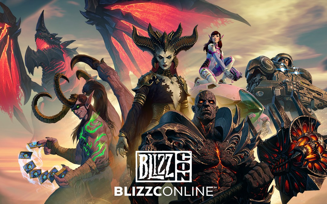 Blizzard Entertainment's Global Community to Gather Virtually at BlizzConline
