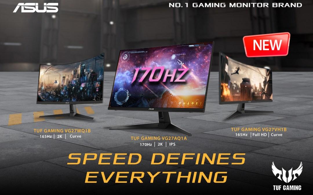 ASUS Announces Three New TUF Gaming Monitors