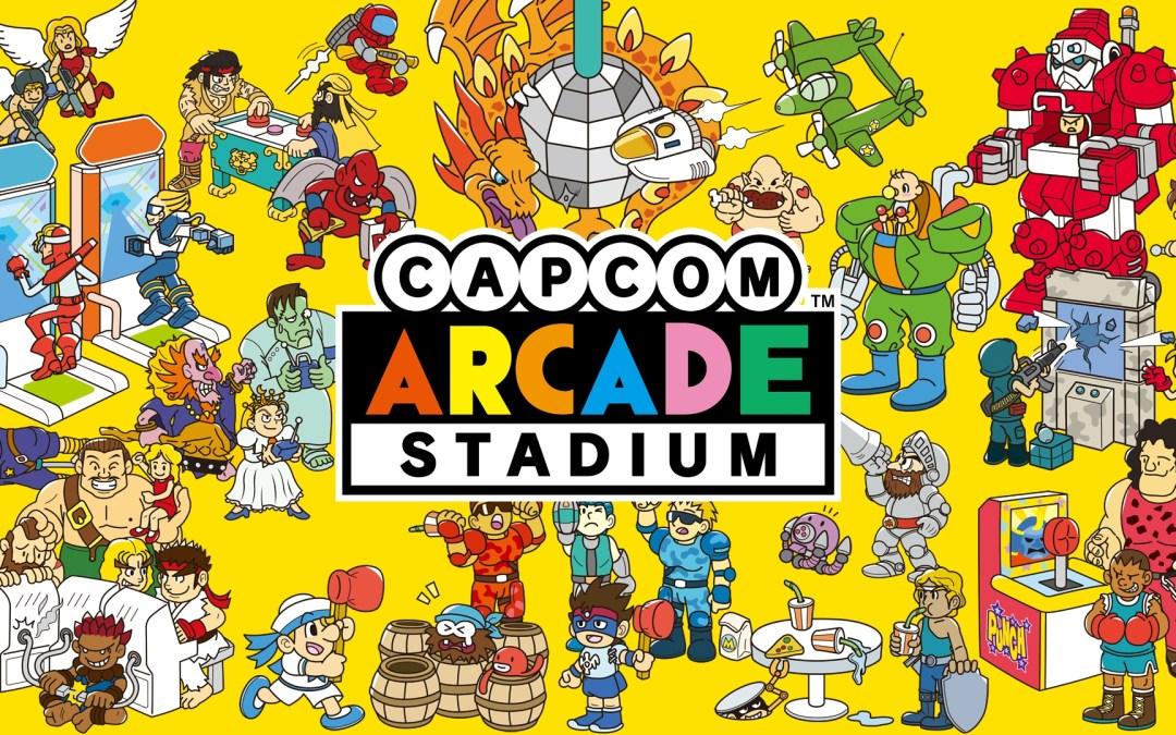 Capcom Arcade Stadium Arriving This May