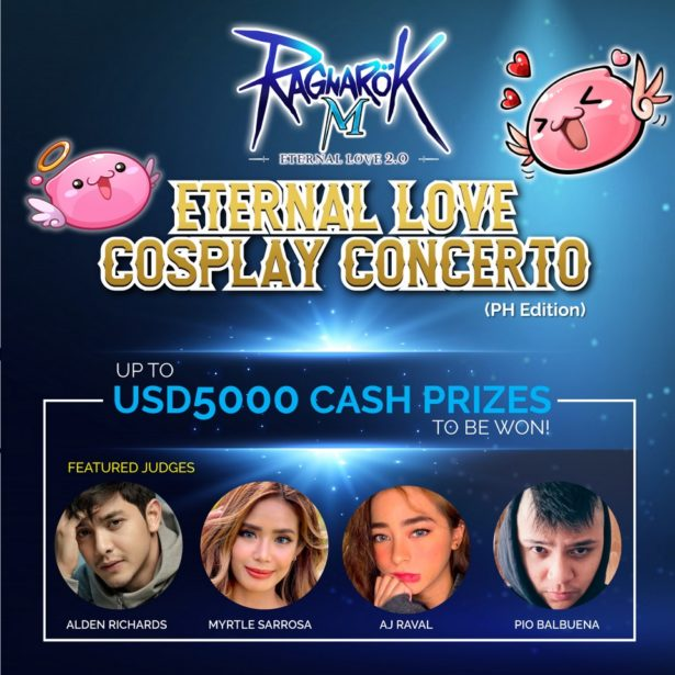 Ragnarok M: Eternal Love Announces their COSPLAY CONCERTO Competition