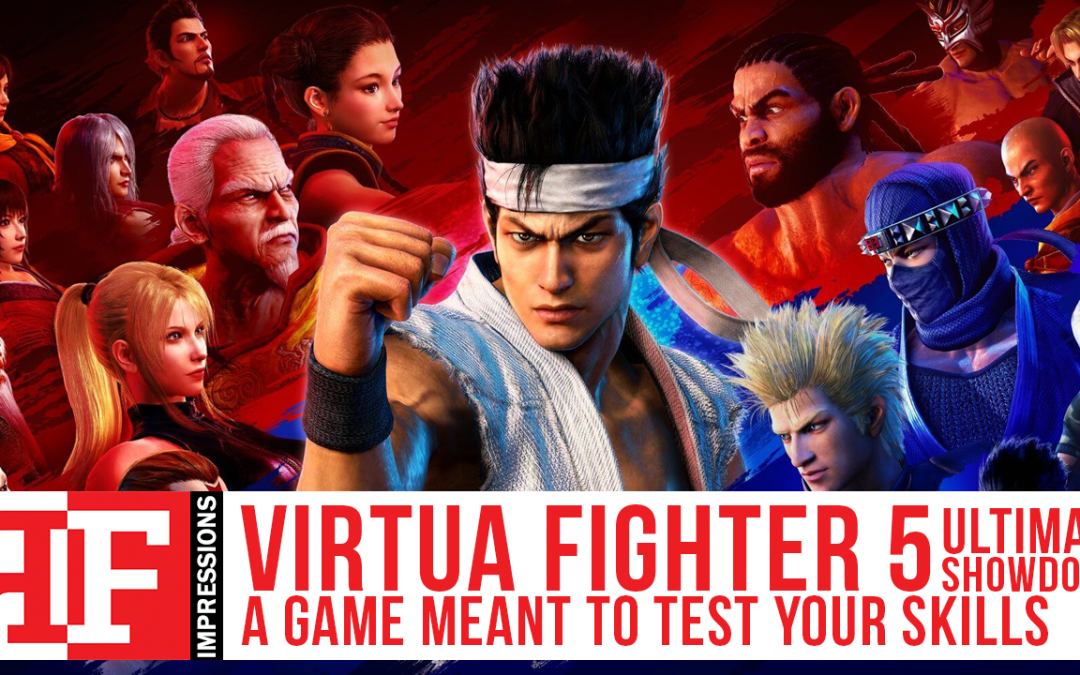 Virtua Fighter 5 US impressions: It Will Test You