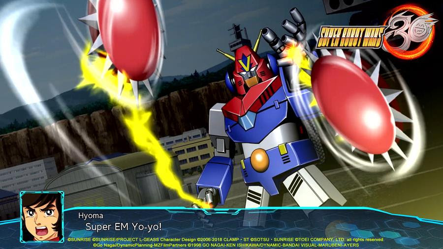 Super Robot Wars 30 Announced for the Home Consoles
