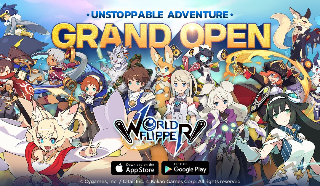 Mobile Pinball RPG World Flipper Launched Globally