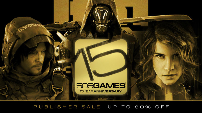 505 Games Celebrates its 15th Anniversary with a Publisher Sale