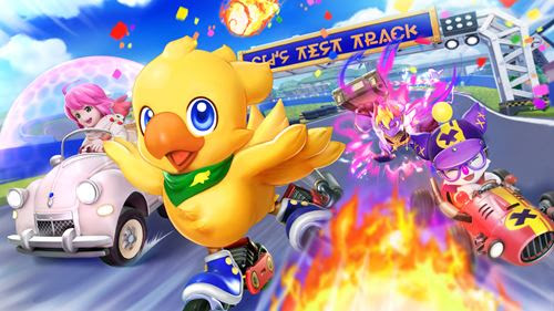 Chocobo GP Races to Nintendo Switch in 2022