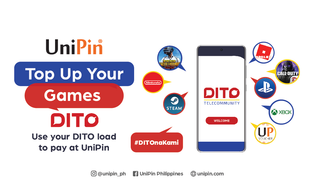 UniPin Teams Up with DITO for Seamless Gaming Experience