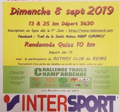 Trail de la St Aubeu 2019