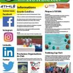 Newsletter du 10 mars 2020