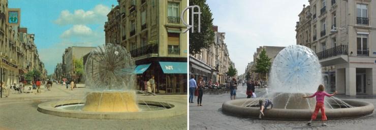 Erlon, fontaine boule