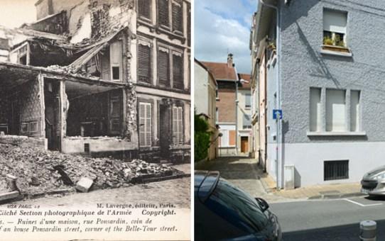 Angle des rues Ponsardin et Belle-Tour