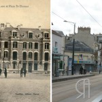La reconstruction – Place Saint-Thomas