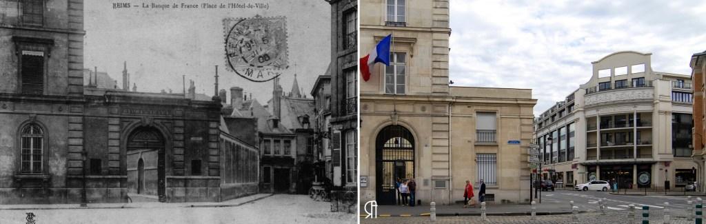 Place de l'Hôtel de Ville, La banque de France