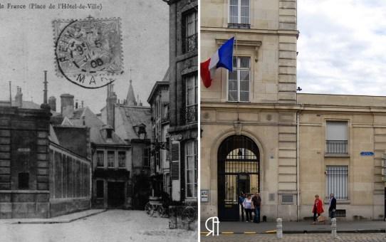 La Banque de France, place de l'Hôtel de Ville