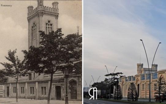 Les établissements Pommery, boulevard Henry Vasnier