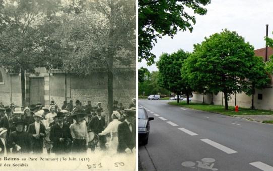 Kermesse des écoles libres, avenue du Général Giraud