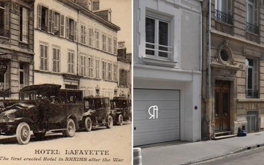 Hôtel Lafayette, 35 rue de Thillois