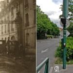 Les Allemands à Reims sur la route de Paris