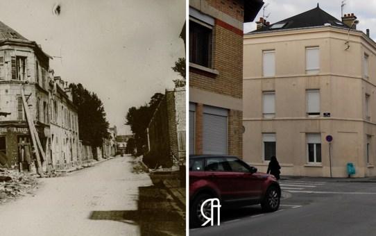 La rue du Mont d'Arène