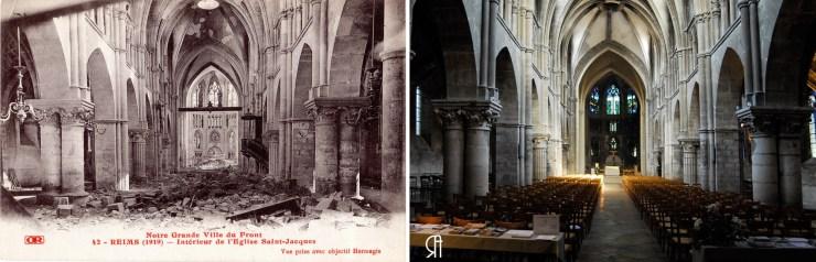 Intérieur de l'église Saint-Jacques