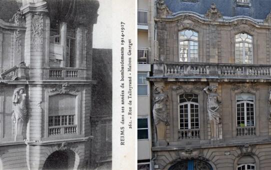 Rue de Talleyrand, l'hôtel particulier Georget.