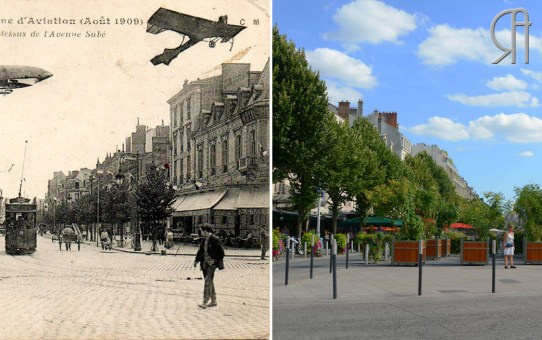 Grande Semaine d'Aviation (août 1909) - Place d'Erlon