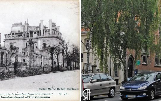 Le boulevard Lundy, le temple et l'Hôtel particulier Mignot