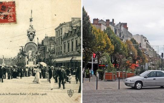 15 juillet 1906, inauguration de la fontaine Subé