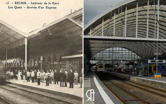 Les quais de la gare