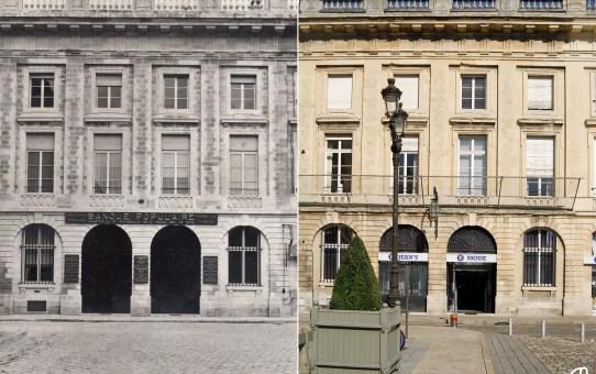 Banque Populaire Industrielle et Commerciale / Leclerc vêtements, place Royale