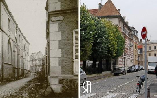 Rue de l'Isle, ancienne façade principale de l'abbaye des Cordeliers