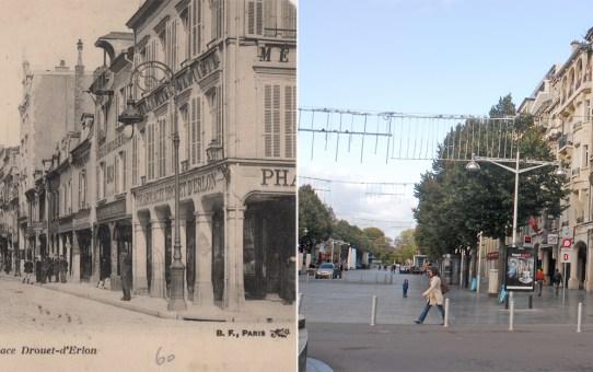 Place d'Erlon angle de la rue de l'Etape