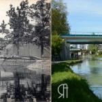 La Coulée Verte, entre Vesle et canal