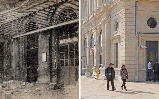 La gare pendant la guerre 1914-1918